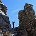 Wieder ein Meilenstein auf dem Klettersteig geschafft.