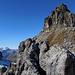 Wir erreichen den Gipfelbereich.