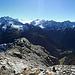 Panorama-Sicht vom Gipfel.