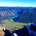 Blick vom Thaneller auf Heiterwanger See und Plansee