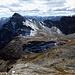 Blick zum Monte Chersogno, rechts unten der Lago Camoscere