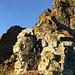 Schöne Kletterei von rechts zur Kanzel im mittleren Abschnitt des Stüell ENE-Grats