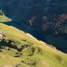 Tiefblick zur Altenalp und dem Seealpsee