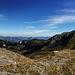 Panoramablick von der Bergstation Haldigrat.