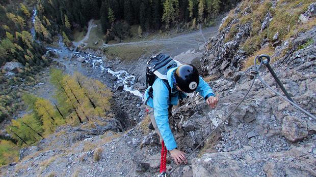 Klettersteig Chäligang : Chäligang klettersteig m u tourenberichte und fotos hikr