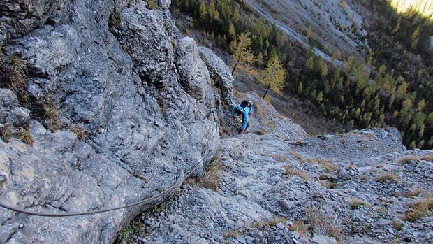 Klettersteig Adelboden : Chäligang klettersteig m u tourenberichte und fotos hikr