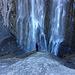 Am oberen, wunderschönen Wasserfall.