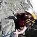 Kurze Kletterstellen