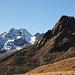 Saldurspitze und rechts die Steinschlagspitze