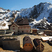 Die Schöne Aussicht Hütte, bis Ende November geschlossen.