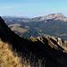 Beim Ällgäuhorn mit Sicht Richtung Hohgant.
