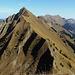 Rückblick vom Gipfel des Schierenhörnli.