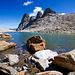 Wunderbare See auf 2870m.