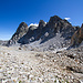 Recht um die Felsen wird die Rothorn Furgga erreicht.