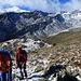 gegenüber sieht man gut den vorgelagerten Absatz, den wir für unseren Aufstieg zur Madritschspitze am Mittwoch genutzt haben