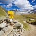 Fuorcla da Grialetsch. Noch ein kurzer Weg und die Hütte ist erreicht.