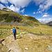 Jetzt richtig aufpassen damit die Route nach Punkt 2607 gefunden wird. Man kann sich hier auch in die Route durch Val Grialetsch verirren.