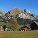 Auf dem Weg vom Parkplatz beim Schwendisee zur Sesselbahn, zauberhafte Aussicht zum Alpstein.