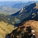 Aussicht auf dem Tristencholben zum Voralpsee und dem Rheintal
