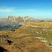 schöne Aussicht zum Gamserrugg und dem Alpstein