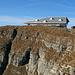 das neue Berggasthaus auf dem Chäserrugg