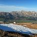 beim Abstieg vom Chäserrugg hat der Wanderer immer den Alpstein vor Augen