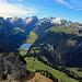 die schönste Aussicht auf den Alpstein hat man vom Hohen Kasten aus, es gibt kein schöneres Plätzchen um den Alpstein zu bewundern!