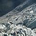 steiniger Aufstieg (Sicht von oben herab)