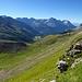 Rückblick Richtung Val Lungané und Val Poschiavo.