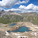 Die Namenlosen Seen nördwestlich von Punkt 2916m. Jemand hat sie trotzdem Namen gegeben.