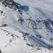 Piansecco und Schneebrett auf der Route zum Pizzo Rotondo