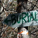 seguo le indicazioni per l'alpe burial