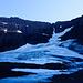 Gletscher auf der Nordseite des Dyrfjöll.