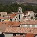 Casamaccioli - Blick über die Dächer des Ortes. Foto vom 02.10.2017.