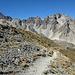 Im Abstieg mit Blick auf die Rocca Bianca
