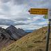 Am Col de Lys mit Blick auf unseren Weiterweg