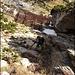 Dann noch über steiles, meist gut gestuftes Gelände hoch zum Wanderweg, welcher zum Mattstogg führt.<br /><br />Foto von R. Schlumpf