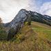 Blick von La Forcla zum Dent du Bourgo