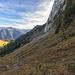Querung unterhalb der Nordwand des Dent du Bourgo