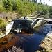 ein Abzweig für einen weiteren Wasserkanal, vermutlich zur Speisung der Teufelsbachklause