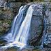 die künstlichen Wasserfälle (Bachverbauungen) des Dürrenbaches