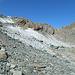 Fuorcla Traunter Ovas wird gut sichtbar. Wir um querten den kleinen Gletscher.