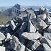 Gipfelsteinhaufen