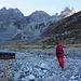 Nei pressi dell'Alpe Campo
