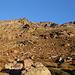 Im Aufstieg vom Refuge de l'Erco zum Monte Cinto - Ausblick nahe der Hütte. Ein Stück geht's nun noch nordwärts. Dann folgen wir grob dem Südost-Grat.
