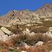 Im Aufstieg vom Refuge de l'Erco zum Monte Cinto - Beobachtet von Einheimischen.