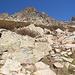 Im Aufstieg vom Refuge de l'Erco zum Monte Cinto - Mittlerweile auf einer Höhe von 2.170 m.