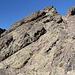 Im Aufstieg vom Refuge de l'Erco zum Monte Cinto - Steinmännchen zeigen nach wie vor, wo es entlang geht (mittig, im Vordergrund).