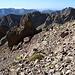 Im Aufstieg vom Refuge de l'Erco zum Monte Cinto - Hier in einer kurzen Querung auf ca. 2.400 m.