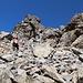 Im Aufstieg vom Refuge de l'Erco zum Monte Cinto - Bei strahlend blauem Himmel.